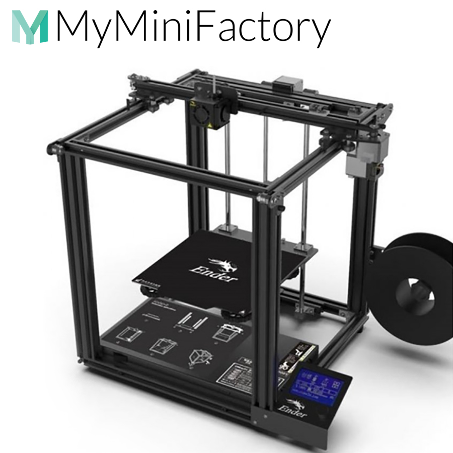 3D Print Files from our MyMinifactory store