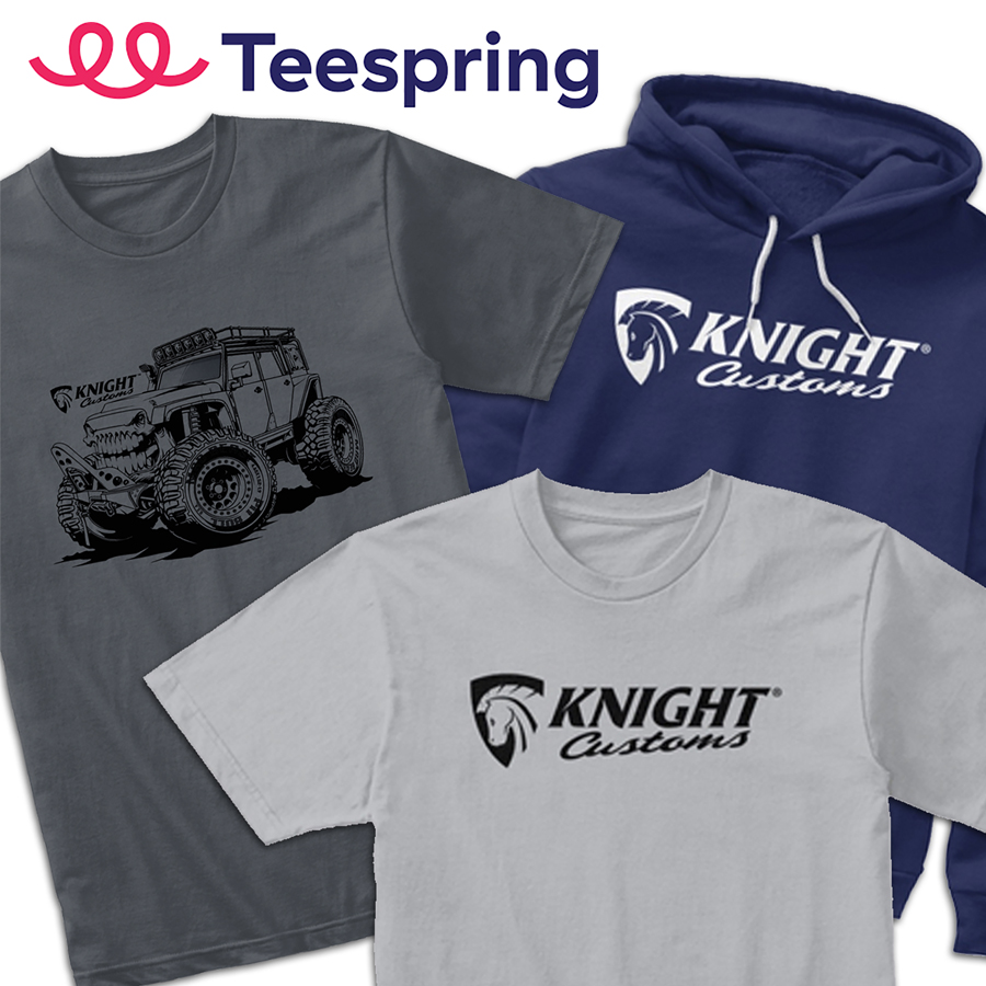 T-shirts & Hoodies from our Teespring store